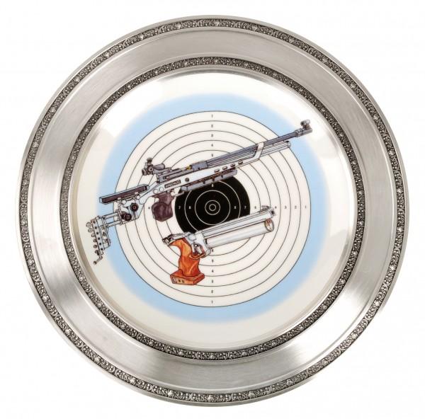Tin Edge Plate 27 cm