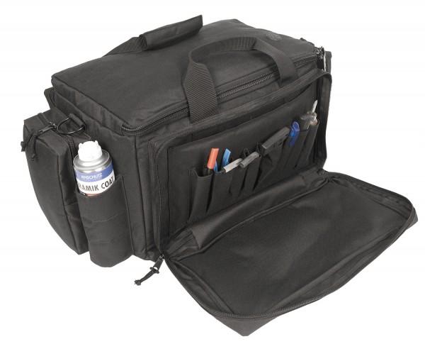 ahg-Anschütz Range Bag für Kurzwaffen und Zubehör (schwarz)