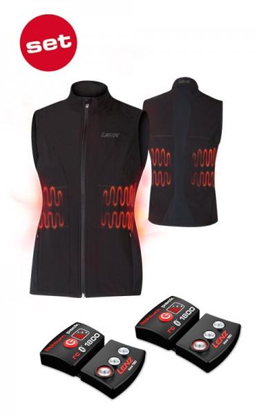 Lenz heat vest 1.0 Herren inkl. Lithium pack rcB 1800