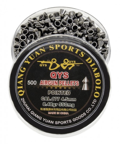 Qiang Yuan Pointed Head Pellets