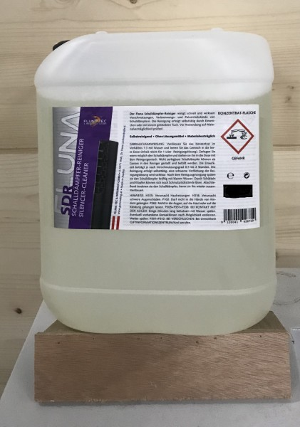 Flunatec Schalldämpfer Reinigungsflüssigkeit 5 L Kanister